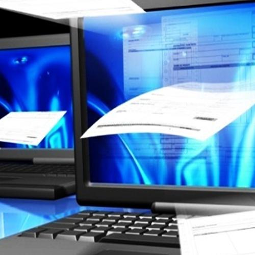 Documentos por via eletrônica
