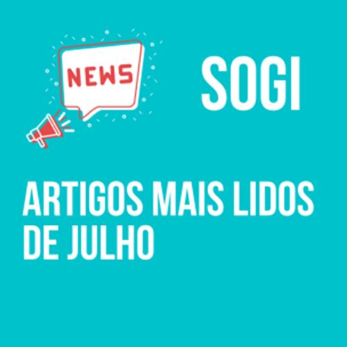 Artigos mais lidos do SOGI em Julho